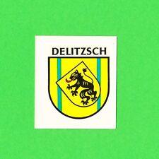 DDR Abziehbild Schiebebild Delitzsch ´85