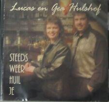LUCAS & GEA HULSHOF - STEEDS WEER HUIL JE  - CD