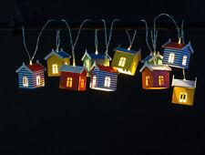 12 x ISOTRONIC LED Solarlichterkette Solarleuchte Außenleuchte 12 Stück