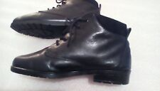 clarks soft black leather size 4.5 lace up up ankle boots comfortable good clean