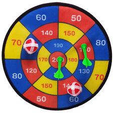 Spielzeug Wurfspiel Sicherheits Dartscheibe Klett Zielscheibe 29cm Pfeile Bälle