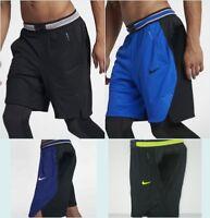 "NWT Nike AeroSwift 9"" Basketball Shorts Men's SM MD 2XL Black White 891725 NEW"