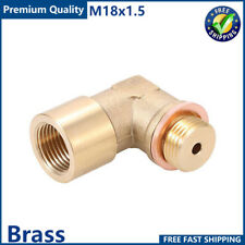 Angled O2 Oxygen Sensor Adapter Extender Spacer  M18 x 1.5 90 Degree Bung Pipe