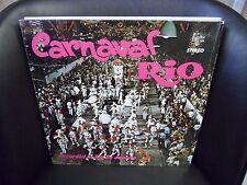 CARNAVAL RIO Recorded in Rio De Janeiro LP EX Alshire Records IN SHRINK A/S 250