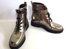 MICHAEL Michael Kors Vivia Boot Metallic Womens Shoes Size 6.5 M Boots MSRP $295