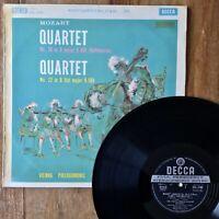 Mozart Quartets 20 & 22 ~ Vienna PO (Decca SXL 2286) 1961 ffss Wideband Vinyl