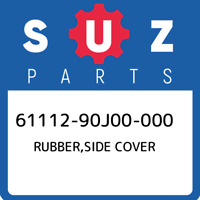 61112-90J00-000 Suzuki Rubber,side cover 6111290J00000, New Genuine OEM Part