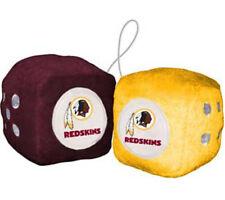 Washington Redskins Fuzzy Dice NFL Football Team Logo Plush Car Truck Auto
