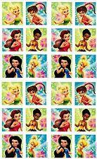4 Sheets Disney Fairies Fairy Tinkerbell Scrapbook Stickers