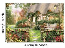 Jigsaw Puzzles for Adults Kids 1000 Pieces Green House Assembling Toy Puzzles