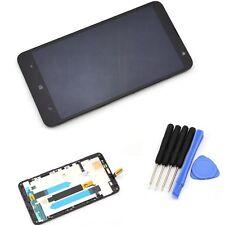 Vitre tactile Noir et écran LCD assemblés sur chassis pour Nokia Lumia 1320