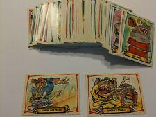 Set of 88 Leaf 1988 Baseball's Greatest Grossouts Monster Cards