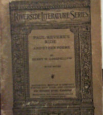 Riverside Literature Series; Paul Revere's Ride and Other Poems