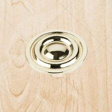 "Kitchen Cabinet Hardware Drawer Knobs kO75 Polished Brass 1-5/16"""