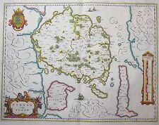 Fionia vulgo Funen - Fünen von Willem Janszoon Blaeu - 1640