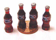 1:12 Scale 4 Small Pepsi Bottles Tumdee Dolls House Pub Bar Cafe Shop Drink B