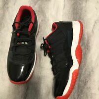 Nike Jordan Air 11 Low Bred GS 6.5Y Women 8 528896-012