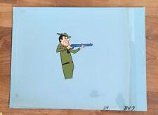 Yogi Bear , Ranger Production Cel Hand Inked 1960'S Hanna Barbera