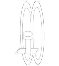 Genuine Subaru Engine Air Duct Clamp 805984140