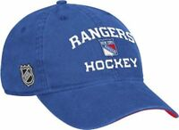 NHL New York Rangers Hat Slouch Adjustable Cap