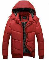 2019 winter men's cotton coat zipper hooded warm cotton men's outwear jacket