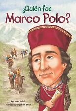 Quien Fue Marco Polo? by Joan Holub (2012, Paperback)