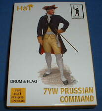HAT 8282 PRUSSIAN INFANTRY COMMAND. SEVEN YEARS WAR. 1/72 SCALE. 24 FIGURES