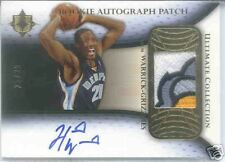 05-06 ULTIMATE COLLECTION HAKIM WARRICK ROOKIE PATCH AUTO 25/25 BEAR CLAW RARE
