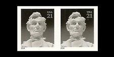 US 4860a Abraham Lincoln 21c imperf NDC horz pair MNH 2014