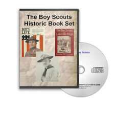 Vintage Boy Scouts Handbooks, Yearbooks, Novels 1910-1922 / 44 Books CD - D215