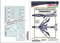 1/144 Hawker Hunter - 'Thunderbolts' Aerobatic Team Indian Air Force Decals