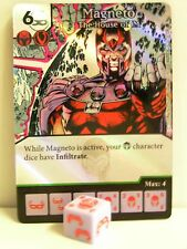 Dice Masters - 1x #060 Magneto the House of M FOIL-X-MEN FIRST CLASS