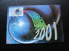 FRANCE - carte 1er jour 14/10/2000 (nouveau millenaire) (cy41) french