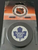TORONTO MAPLE LEAFS NHL VINTAGE ZIEGLER GAME PUCK TRENCH GT SLUG 🇨🇦 SEALED NEW