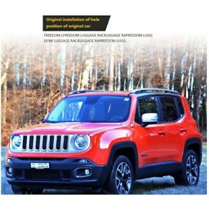 For Jeep Renegade 2017-2019 Roof Rail Luggage Rack OE STYLE Car Screw Roof Rack