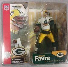 McFarlane Brett Favre NFL Green Bay Packers Series 4 White Jersey Variant NIP