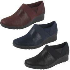 Zapatos de tacón de mujer textiles Clarks