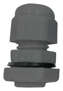 Nylon Cable Gland, PG29, 18-25mm Cable Range, Grey, IP68 - PELB0293
