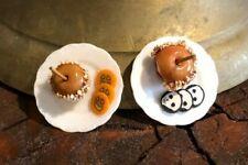 Dollhouse Caramel Apples & Halloween Cookies!: IGMA Artisan Lola's Originals!