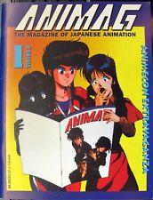 ANIMAG The Magazine of Japanese Animation Volume 2 # 1 Vintage Anime Magazine