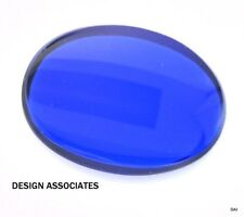 MAN MADE ROYAL BLUE SPINEL 16X12  MM OVAL  CUT OUTSTANDING COLOR AAA FLAT TOP