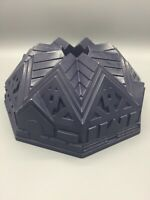 KITCHENAID Tudor Style 11 Cup Bundt Pan Cast Aluminum EUC Cake Mold Dark Grey
