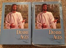 The Desire of Ages, Ellen G. White  Volume 1 & 2 NEW Hardcover Life Jesus Christ