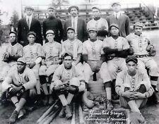 1913 HOMESTEAD GRAYS  8X10 TEAM PHOTO  BASEBALL HOF NEGRO LEAGUES