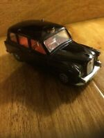 Vintage London Black Taxi Tx1 Cab - Corgi Whizz Wheels - Very Good Condition