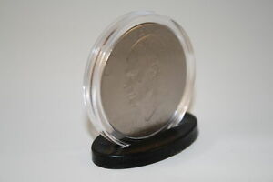 25 Single Coin DISPLAY STANDS for Silver Eagle/Morgan/Peace/IKE Dollars Capsules