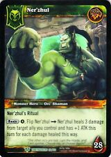 WOW Ner'zhul TIMEWALKERS 26/30 FOIL WORLD OF WARCRAFT ENG MINT