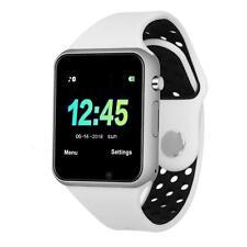 Bluetooth Smart Watch Camera Waterproof Touch Screen Phone Unlocked M3 White !