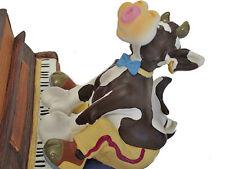 SO`VACHE Comic Kuh am Piano Jazz Musik Figur Sammlerfigur Band Orchester - 20422