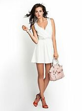 GUESS Kleid »lace Back« weiß